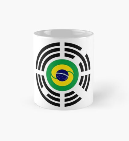 Korean Brazillian Multinational Patriot Flag Series Mug