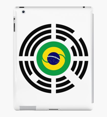 Korean Brazillian Multinational Patriot Flag Series iPad Case/Skin