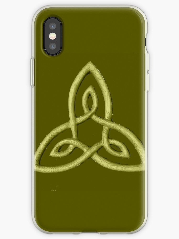 Celtic Symbol For Inner Strength Iphone Cases Covers By Zentiful