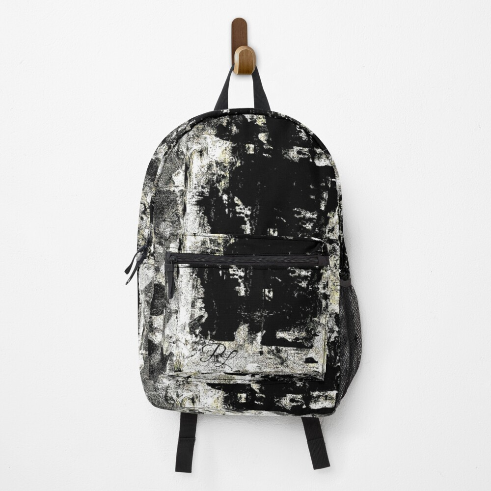 Copy of Grey Abstract Backpack
