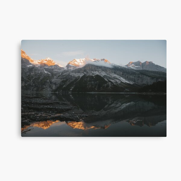 Mountain Mirror - Landscape Photography Canvas Print