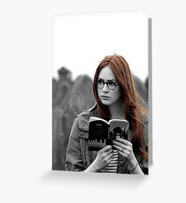 Amy Pond Greeting Card