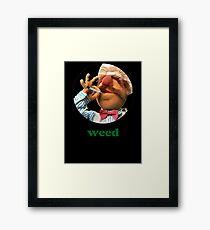 Weedish Chef Framed Print