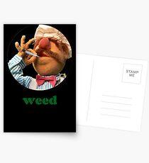 Postales Chef Weedish