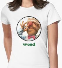Weedish Chef Women's Fitted T-Shirt