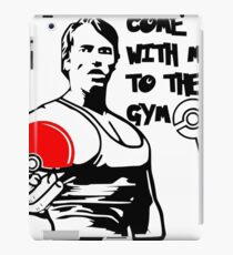 """""""Come With Me To The Gym"""" Arnold Pokemon  iPad Case/Skin"""