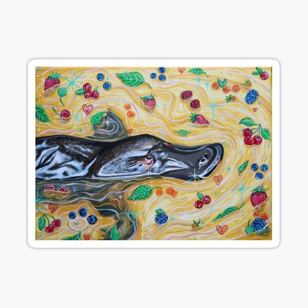 Berry the Platypus  Sticker