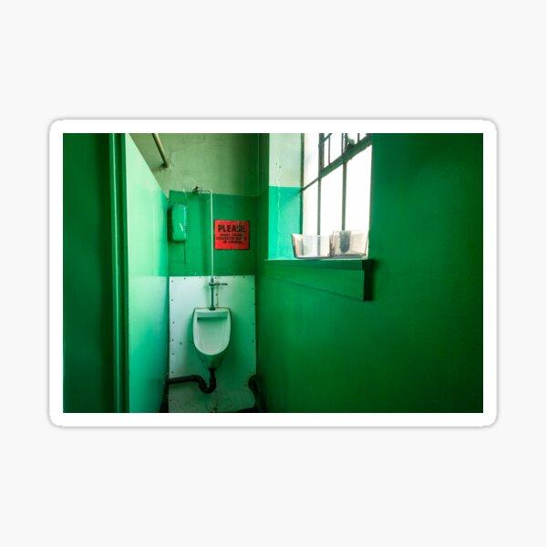 The Green Urinal, Landscape Sticker