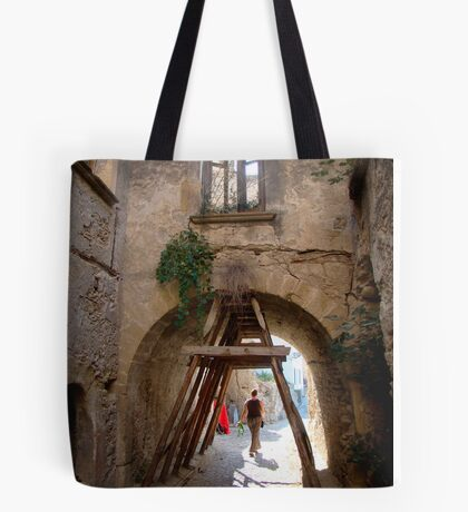 Holding Up Somebody's World Tote Bag