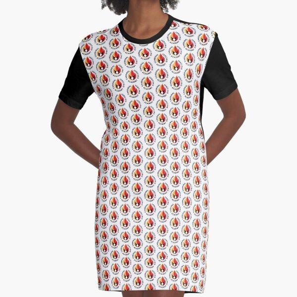CFA Repeating Logo Clothing Graphic T-Shirt Dress