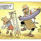Now I'm a REAL Prime Minister! by David Pope