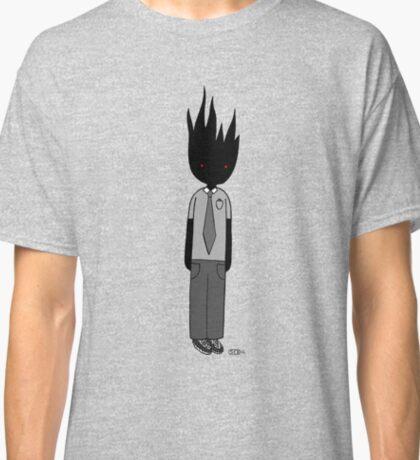 Burning Businessman Classic T-Shirt