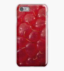 Raspberry Macro iPhone Case/Skin