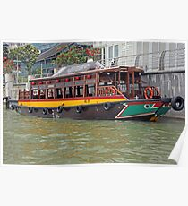 Canal Cruiser Poster