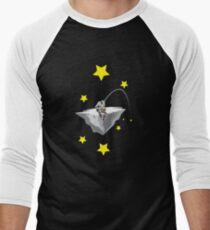 Astronaut fisherman Men's Baseball ¾ T-Shirt