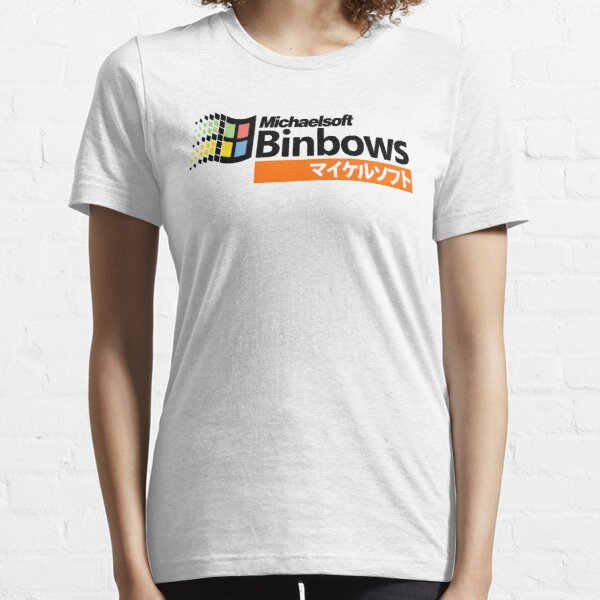 Michaelsoft Binbows マイケルソフト Essential T-Shirt