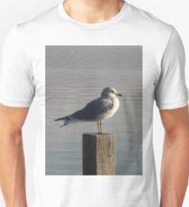 Bird on a Post Unisex T-Shirt