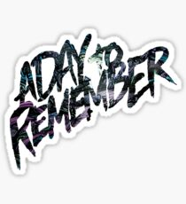 "A Day To Remember ""Homesick"" Logo Sticker"