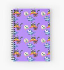 Sun + Moon starters Spiral Notebook