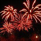 Fireworks in Red by Elena Skvortsova