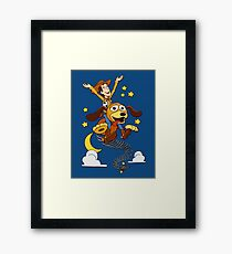 The Neverending Toy Story Framed Print