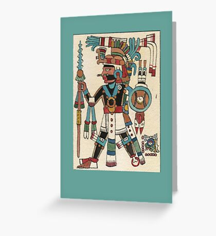 Tezcatlipoca Greeting Card