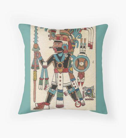 Tezcatlipoca Throw Pillow