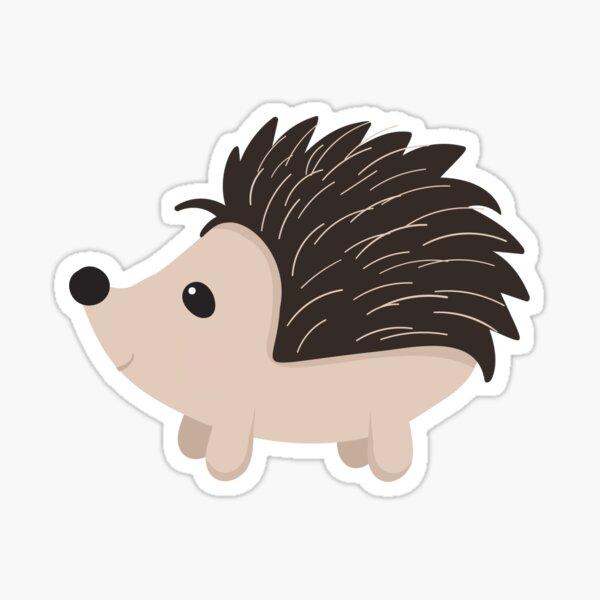 Cartoon Porcupine Sticker