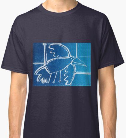 As the Crow flies - Original Collagraph by Francesca Whetnall Classic T-Shirt