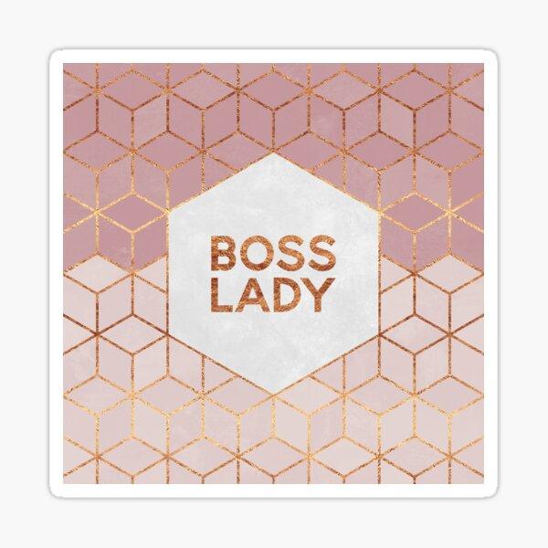 Boss Lady Sticker