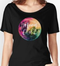 Moon Child  Women's Relaxed Fit T-Shirt