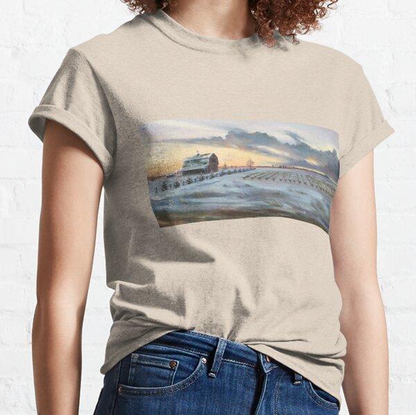 Winter Barn  Classic T-Shirt