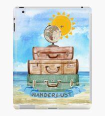 Wanderlust - World Traveler  iPad Case/Skin