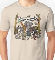 Happy National Zoo Keeper Week T-Shirt