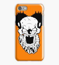 Maniacal Skull Clown iPhone Case/Skin