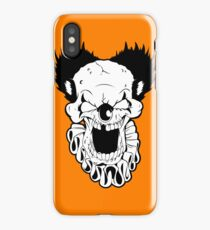 Maniacal Skull Clown iPhone Case/Skin