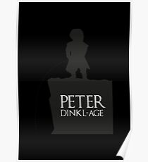 Peter having a Dinkl-age Poster