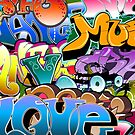 Graffiti  by T-ShirtsGifts