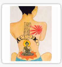 Jhene Buddah Tattoo Sticker