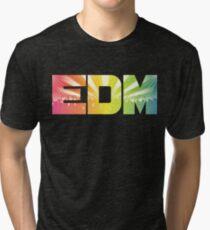 EDM Rainbow Tri-blend T-Shirt
