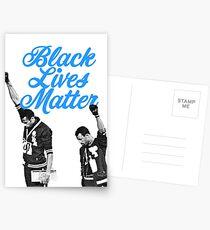 Black Lives Matter - 1968 Olympische Spiele Postkarten