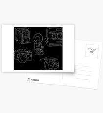 Evolution of the Camera Postcards