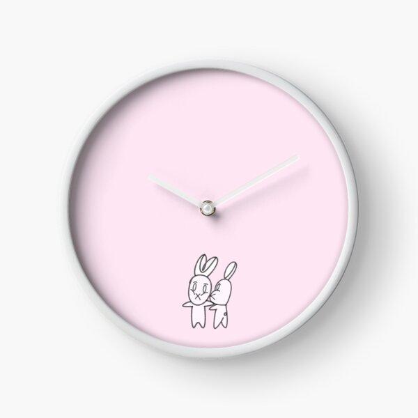 rabbit couple Clock