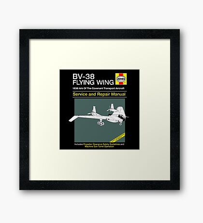 BV-38 Raiders Service and Repair Manual Framed Print