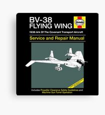 BV-38 Raiders Service and Repair Manual Canvas Print