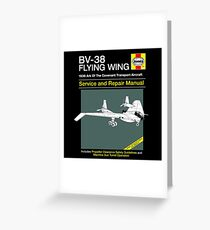 BV-38 Raiders Service and Repair Manual Greeting Card