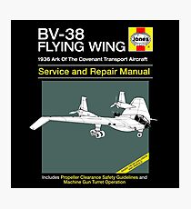 BV-38 Raiders Service and Repair Manual Photographic Print