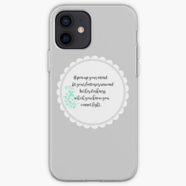 """""""Open up your mind"""" Design iPhone Soft Case"""