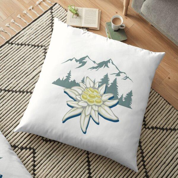 Edelweiss Blume Bodenkissen