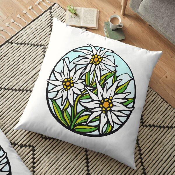 Edelweiß-Blume Bodenkissen